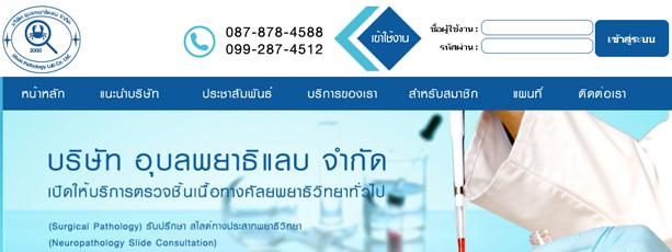 รับทำเว็บไซต์ www.upl.co.th